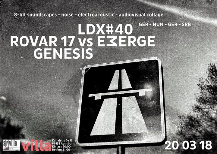 Ldx40  Rovar17 vs Emerge  Genesis