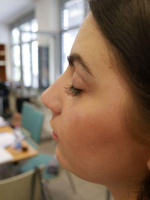 Ausbildung zum Kreativstylist Wimpern 11