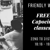 Free Capoeira Classes for a Week
