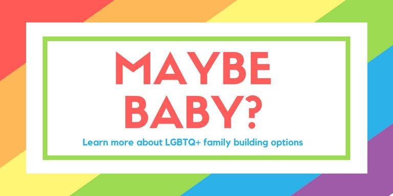 Maybe Baby LGBTQ  Family Building Options