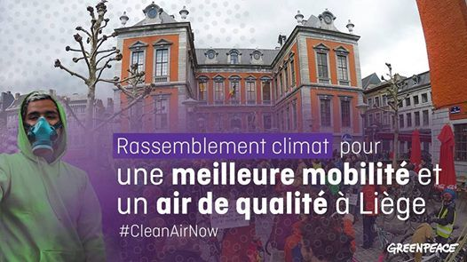 Rassemblement climat  Lige pour une mobilit durable