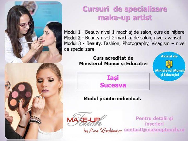 Cursuri De Specializare Make Up At Suceava Romania Suceava
