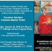 Caroleen Sanders Catawba Master Potter