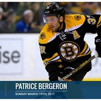 Patrice Bergeron - In Store Signing