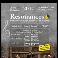 Festival de Musique de Chambre RESONANCES