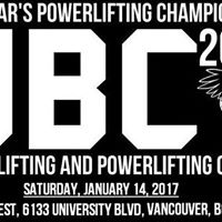 UBC Weightlifting &amp Powerlifting 2017 New Years Championships