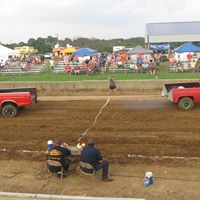 Truck Tug of War at the Grant County Fair