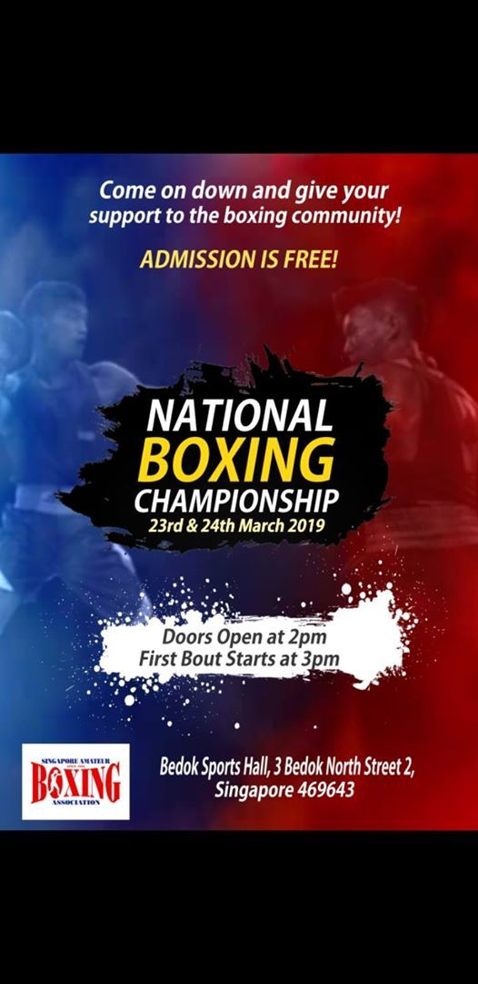 National Boxing Championship 2019 (23rd & 24th March)
