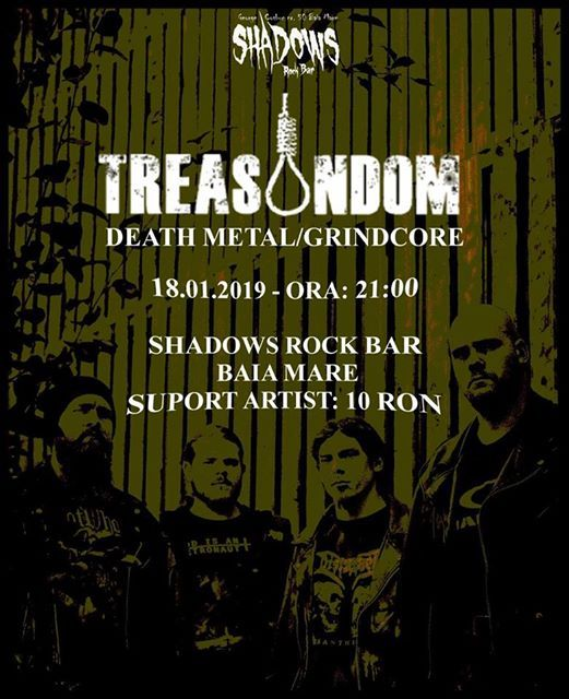 Treasondom - Baia Mare18.01.2019 Shadows Rock Bar