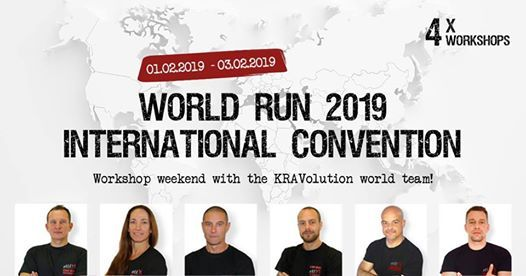 KRAVolution World Run 2019