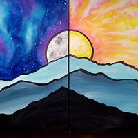 Paint Bug Valentines Date Night for Full Moon Farm