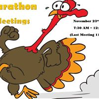 Marathon Meetings - Thanksgiving Edition