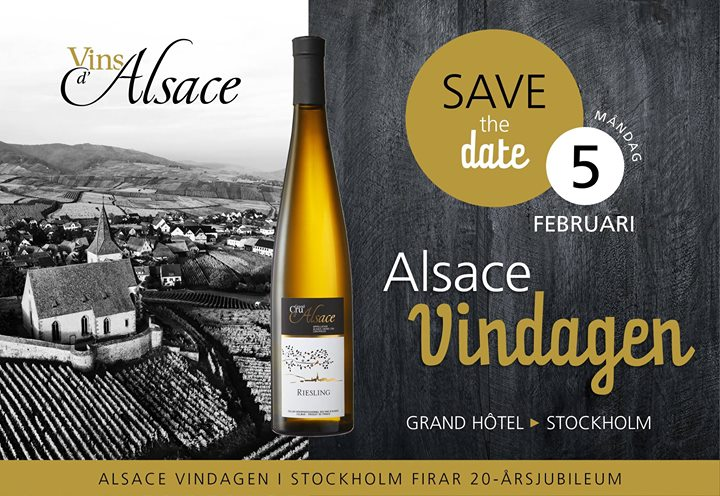 Alsace Vindagen i Stockholm 20 rsjubileum