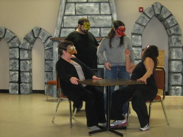 Winter Commedia Acting Workshops for Adults in Calgary
