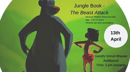 Jungle Book - The Beast Attack (theatre show for kids)