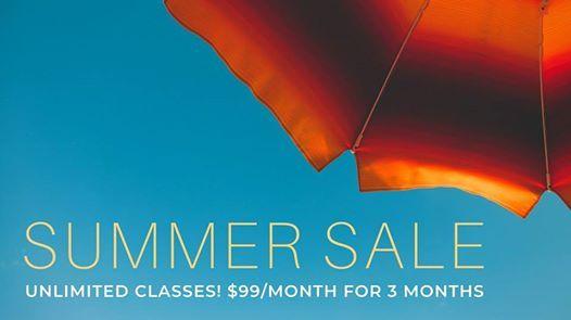 BLYS Summer Membership Sale