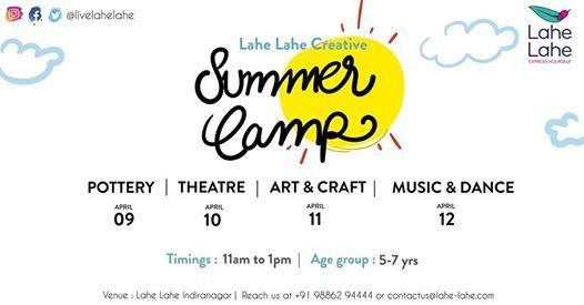 Lahe Lahe Creative Summer Camp (5-7 years)