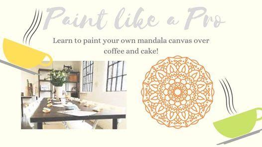Paint like a PRO- Mandala Art