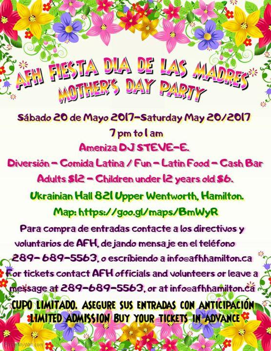 Fiesta Da De las Madres - Mothers Day Party