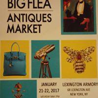 NYC Big Flea Antique Market (Booth 459)