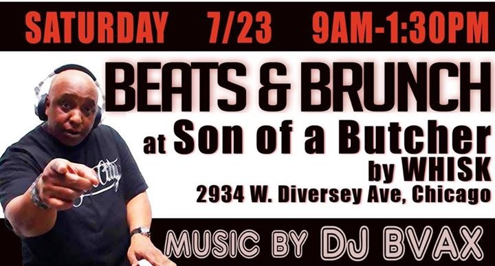 Beats and brunch at son of a butcher by whisk chicago for Lucky fish northbrook