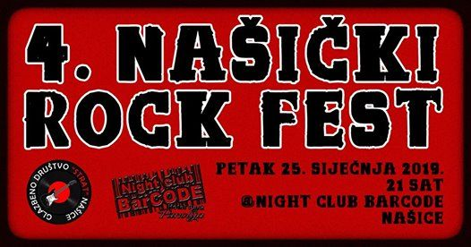 4. NA ROCK FEST Night club BarCode 25012019