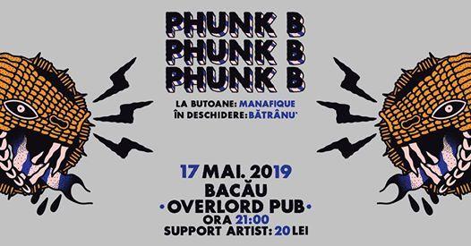 Concert Phunk B - 17 Mai 2019 - Overlord Bacau