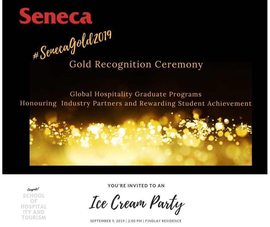 Seneca Gold Recognition Ceremony