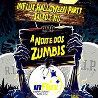 A Noite Dos Zumbis - inFlux Halloween Party