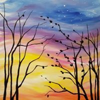Paint Nite for The Winnipeg Chapter of Crohns &amp Colitis