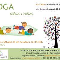 Yoga para Nios y Nias