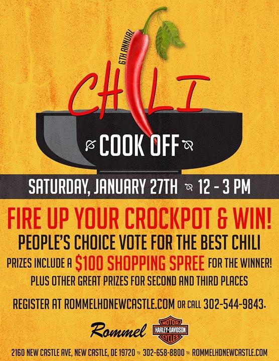 6th Annual Chili Cook Off