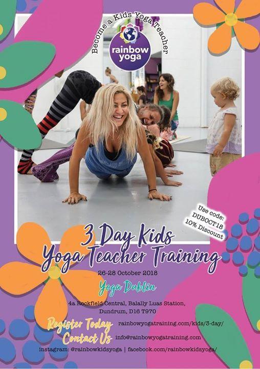 3 Day Kids Yoga Teacher Training with Rainbow Yoga