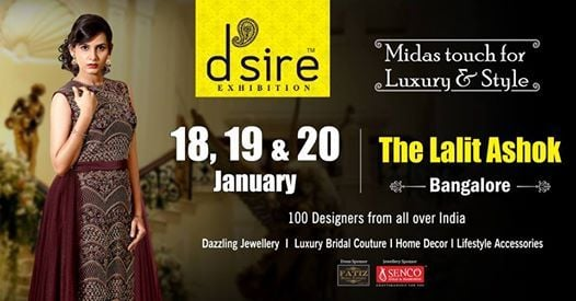 Dsire Exhibitions at The Lalit Ashok Bangalore