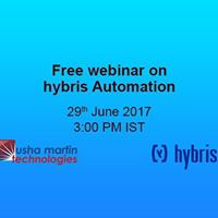 A Free Webinar on hybris Automation