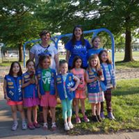 medford girl scouts learn about troops and camp at