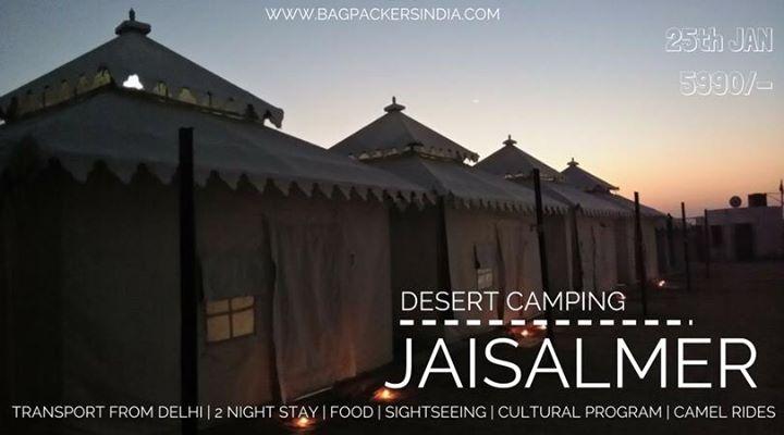 Jaisalmer Trip on Republic Day