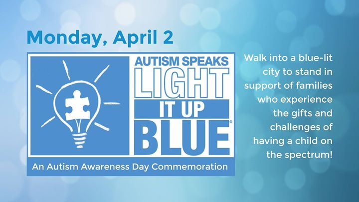 Light It Up Blue   Autism Awareness