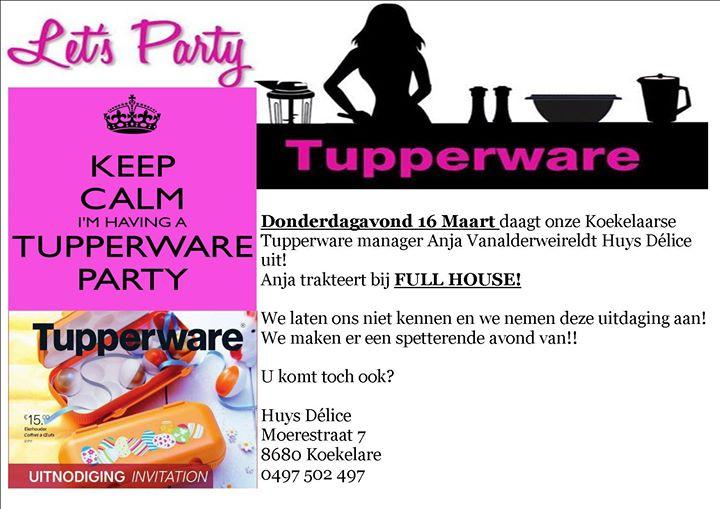 Tupperware party Huys D lice – Tupperware Party Invitation