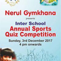 Inter School Annual Sports Quiz