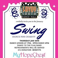Swing Dance for Charity to Benefit My Hope Chest