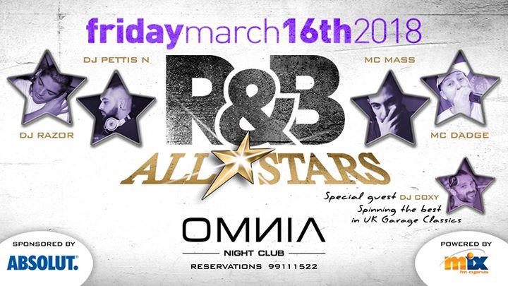 Friday 16.03  R&B ALL STARS Vol.1