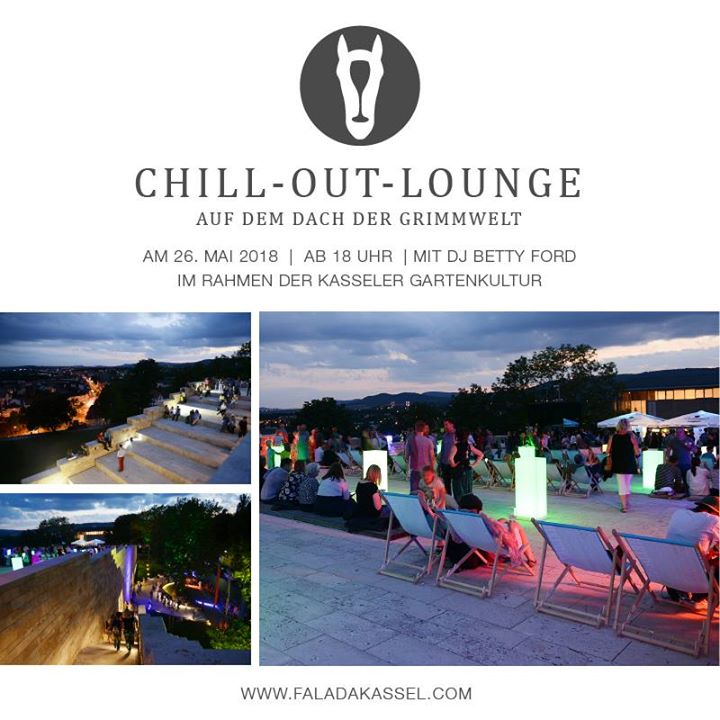 Chillout Lounge Rooftop Grimmwelt   kassel