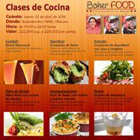 clases de cocina at boher food santiago