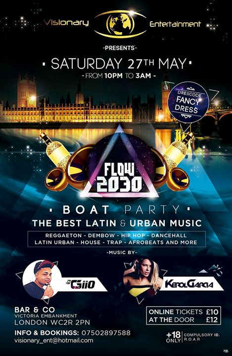 Flow 2030 Boat Party