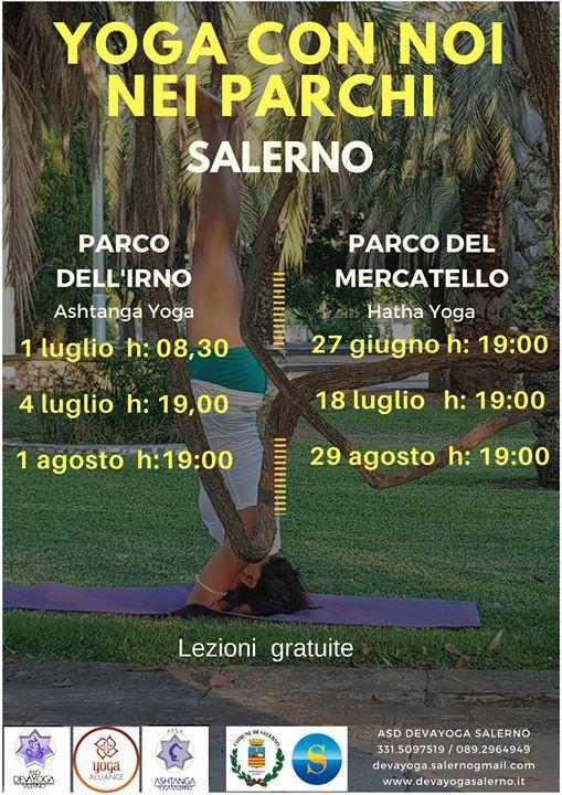 Yoga Con Noi nei Parchi - Salerno