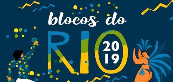 AGENDA DE BLOCOS CARNAVAL RIO 2019 - OFICIAL