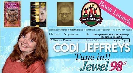 Jewel 98.5 FM  Interviews Michel Weatherall