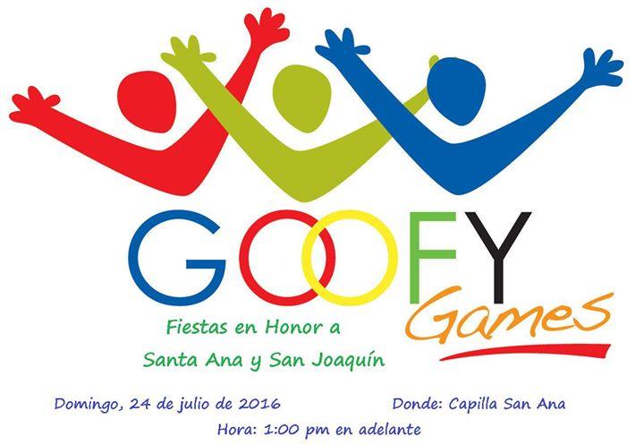 D a de juegos goofy games fiestas santa ana y san for Rio grande arts and crafts festival 2016