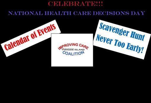RI Healthcare Decision Day APril 16